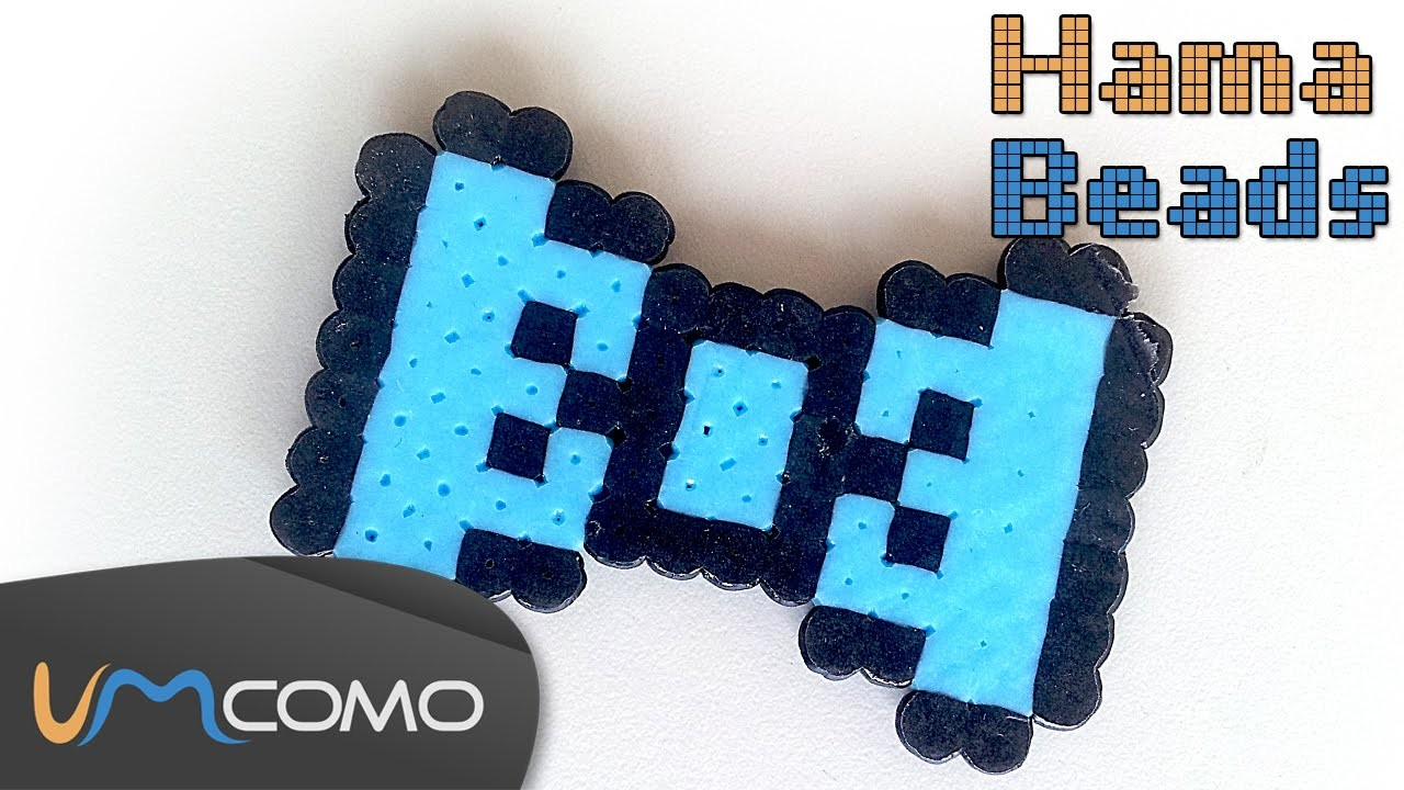Perler Beads Tutorial - Laço
