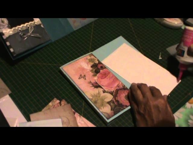 SCRAPBOOKING: Agenda para Projetos Tutorial parte 3