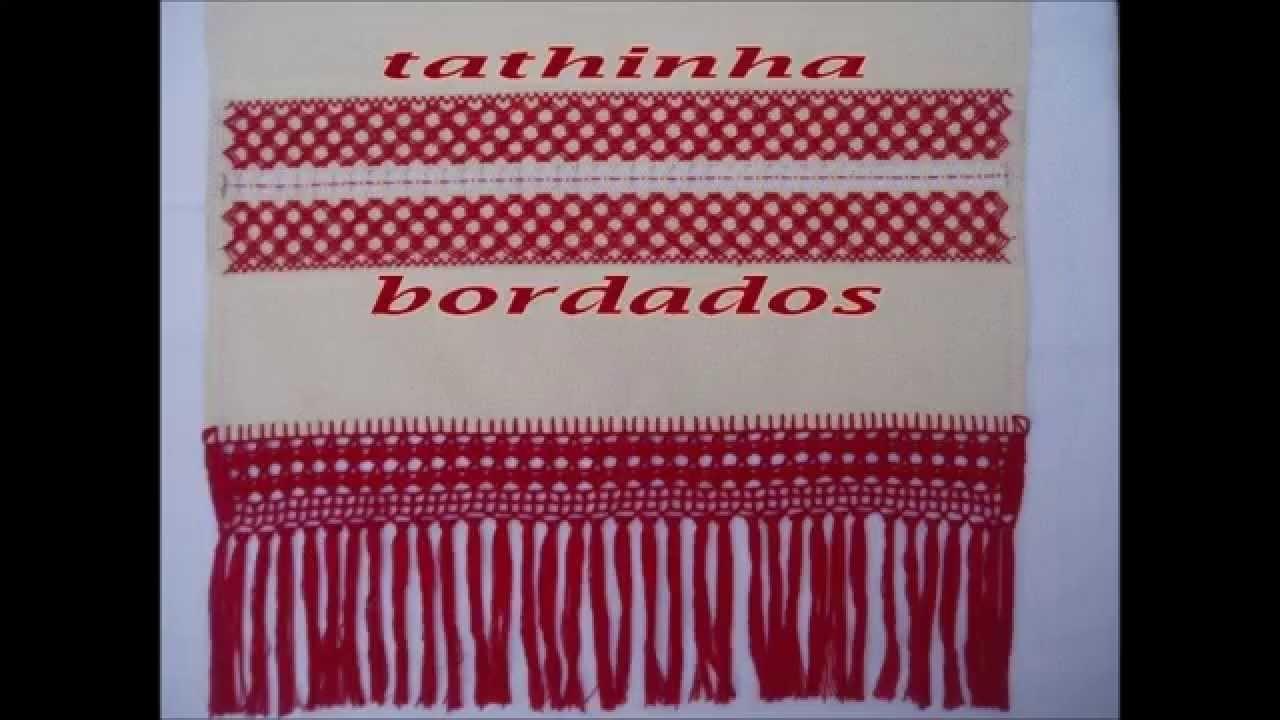 Tathinha Bordados #03 - PONTO RUSSO - BORDADO
