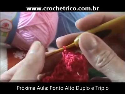 Crochê - Guia de Pontos - Aula 12 - Ponto Leque e Leque sobre Leque
