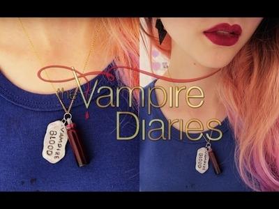 D.I.Y. Colar Vampire Blood - The Vampire Diaries