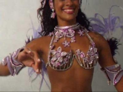 Concurso Rainha Tudo de Samba 2010 - Lanna Silva, candidata da Rocinha