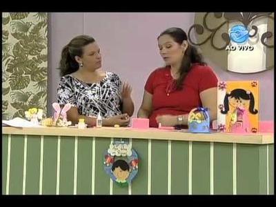 Manhã Viva - Artesanato: Cestinhas para presentar quem você ama na Páscoa! - 11.02.11 - Parte 3