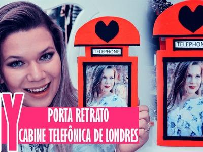 Porta Retrato Cabine Telefônica de Londres - Faça Você Mesma | DIY