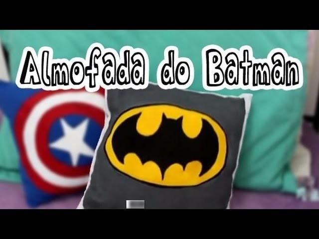 Customização de almofada de Batman - Faça você mesmo