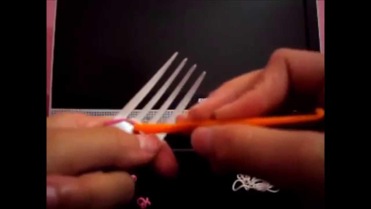 Tutorial: Aprendendo a fazer pulseirinhas de Elástico.Gomitas