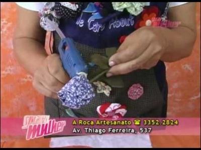 A Roca | Flor de tecido Profª Deise