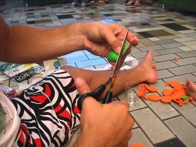 Bolas de Malabares - Tutorial - Como Fazer - DIY