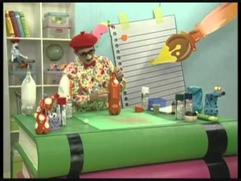 Colorgin com Professor Sassá - Brinquedos de sucata