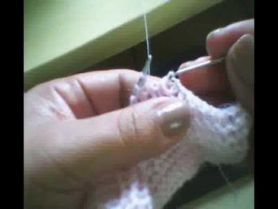Como colocar latex no sapatinho de trico.mpeg