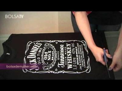 Customização de camisetas de Rock