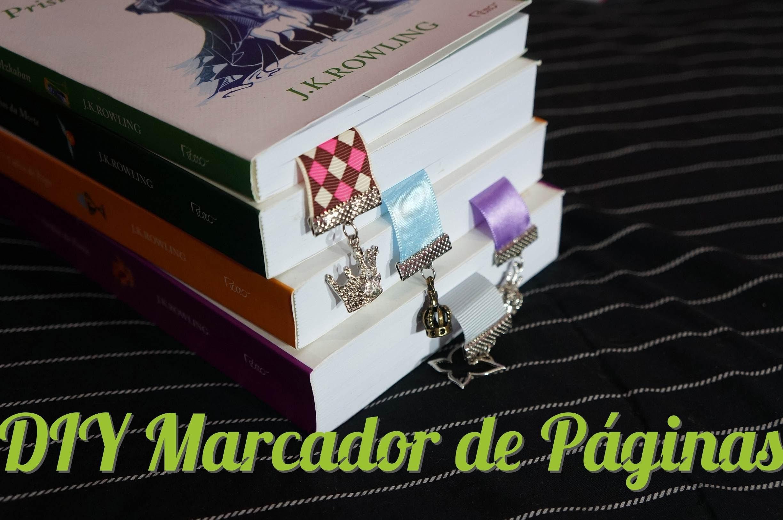 DIY Marcador de Páginas - DIY Bookmark