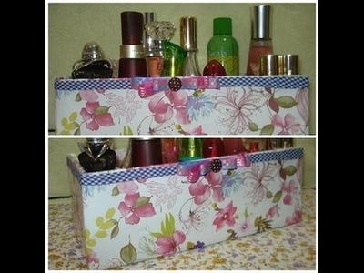 DIY: Organizador Perfumes, Maquiagem ou Hidratantes! por Priscila Rien