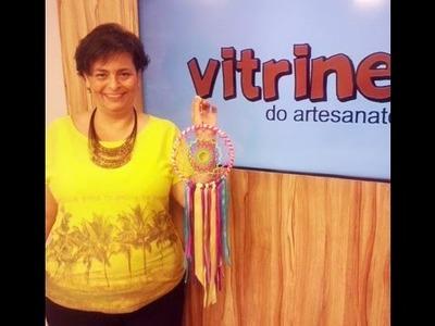 Filtro dos Sonhos Crochê com Cris Vasconcelos  | Vitrine do artesanato na TV