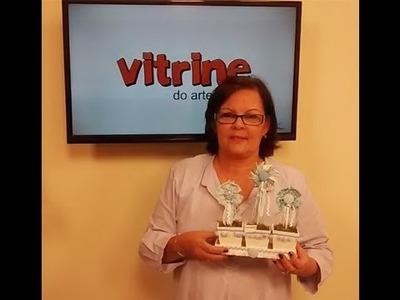 Flor catavento com Yara Gonçalves e Ponto Crivo com Leila Jacob | Vitrine do artesanato na TV