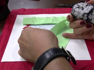 Mulher.com 05.12.2013 - Quadro em íris folding - Marcia Pusandze