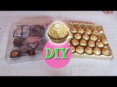 Organizador Make Ferrero Rocher - Faça Você Mesmo por Coisas de Jessika