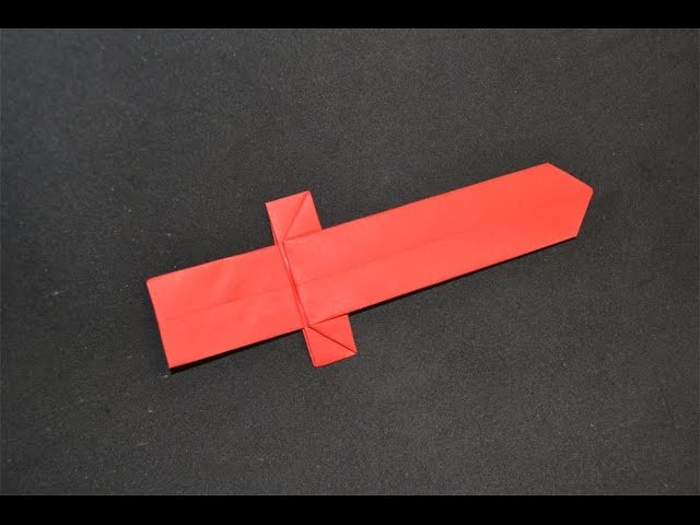 Origami:  Espada