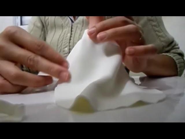 Passo a Passo Vestido de Noiva em Biscuit e Tecido_Parte 1.4