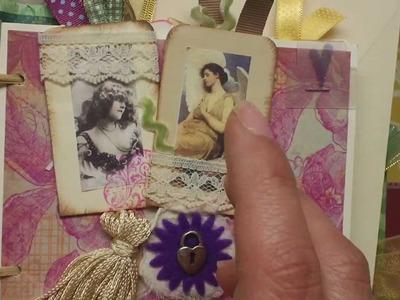 Projeto de Album de Scrapbooking para os Dias da Mães PARTE I