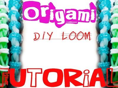 Pulseira ORIGAMI - DIY Loom - PT.PT PT.BR