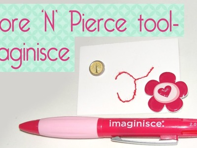 Score 'N' Pierce tool- Imaginisce - Scrapbook by Tamy
