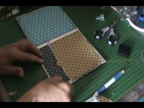 SCRAPBOOKING: Tutorial mini álbum Piratas parte 4