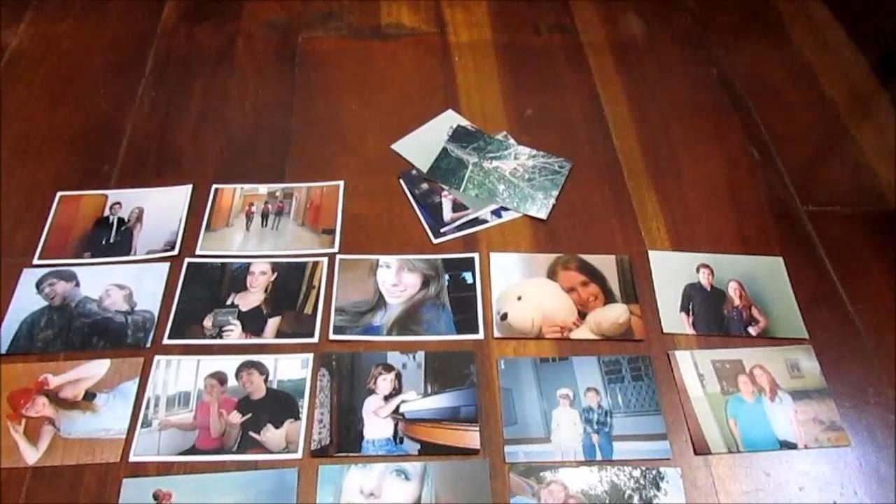 Tutorial: Mural de fotos em formato de coração - DIY Heart Photowall
