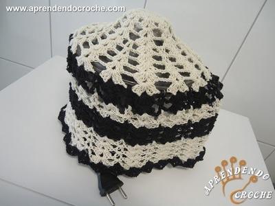 Capa de Croche para Espremedor 1250 ml - Aprendendo Crochê