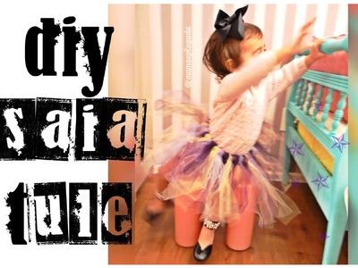 Tutorial DIY: saia tule (tutu) infantil