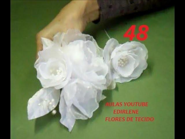 AULA 48: Que arame usar para fazer flores e como fazer a laçada da linha (atendendo pedidos)