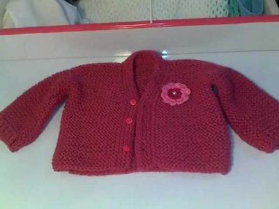 Suéter de trico para bebe 1