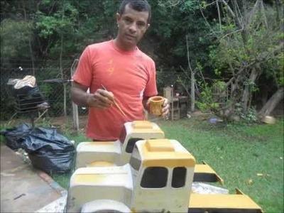 Como fazer uma carreta jacaré.