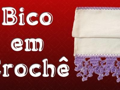Bico em Crochê - Marilda Artes