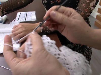 Mulher.com 18.08.2014 - Casaquinho Croche para Bebe por Vilma Maurer - Parte 2