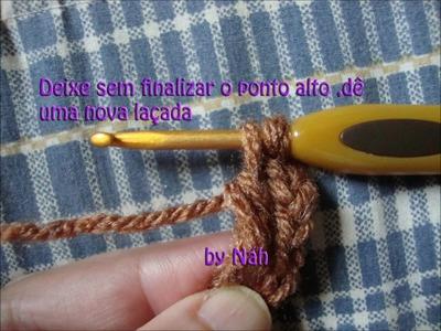 Square girassol em crochê  by Náh