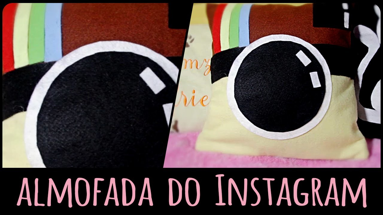 Almofada do Instagram =DiY | Dany Martinês