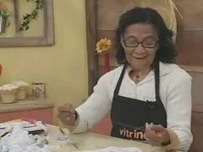 ARTE BRASIL - ENEDINA BARBOSA - BORDADO DE CRAVO EM JOGO AMERICANO (20.06.2011 - Parte 2 de 2)