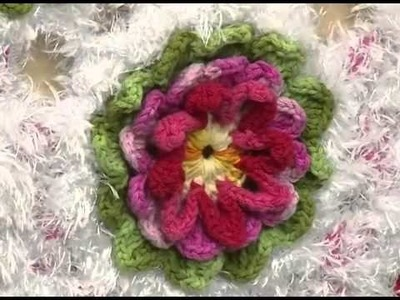 Arte Brasil - Tapete Floral em Crochê - Maria José