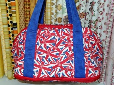 Bolsa sacola em tecidos Plus - Maria Adna Ateliê - Cursos e aulas de bolsas e  sacola em tecidos