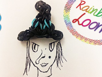 Chapéu de Bruxa - Rainbow Loom