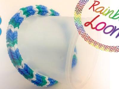 Como fazer pulseiras de elástico - Quadrafish