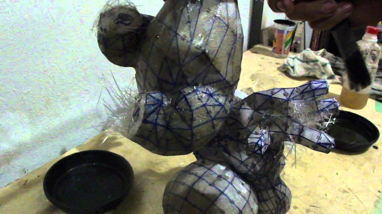 Como resinar papercraft - parte 8 - overdosegamer.blogspot.com.br