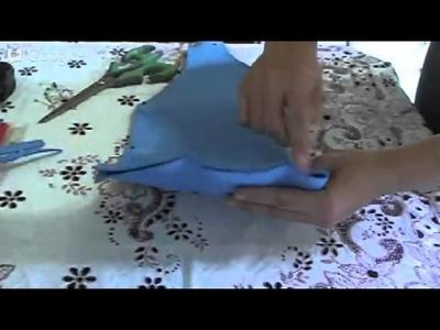 Crochê Irlandês - Ao Vivo - Parte 01 - Criando seu Molde
