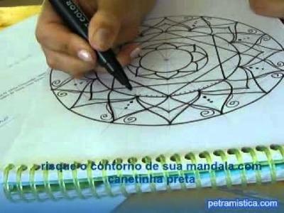 Mandala - dando vida a imaginação