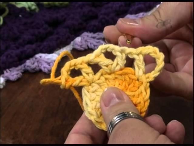 Mulher.com 14.01.2013 Marcelo Nunes - Flor em Crochê 1.2