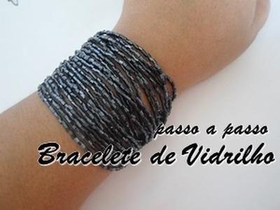 NM Bijoux - Bracelete de Vidrilho - passo a passo