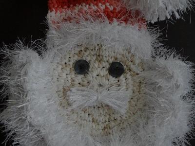 Papai Noel Barroco Decore em Crochê parte-2