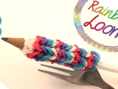 Rainbow Loom - Pega para Lápis ( Com Dois Garfos )