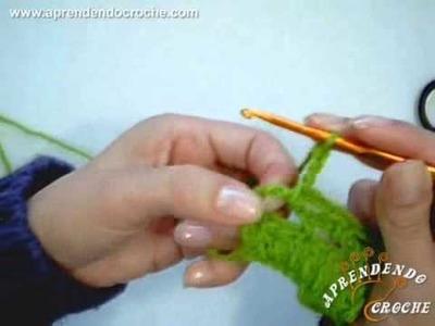 Como iniciar a carreira em ponto rede no croche - Aprendendo Crochê
